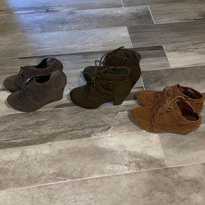 Bundle of 3 pairs of booties